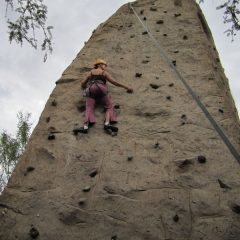 The Rock Wall at Miraval Resort and Spa